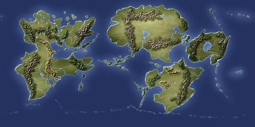 Blank Fantasy World Map Generator Infovisual