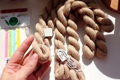 cashmere/silk yarn