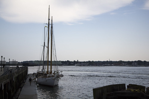 sailing in the Casco Bay, Portland, ME