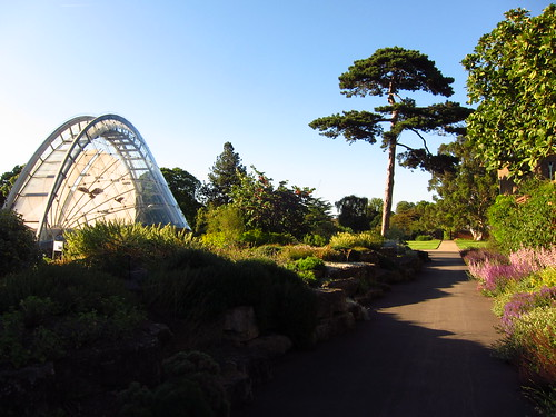 The Rock Garden and Davies Alpine House, Kew Gardens