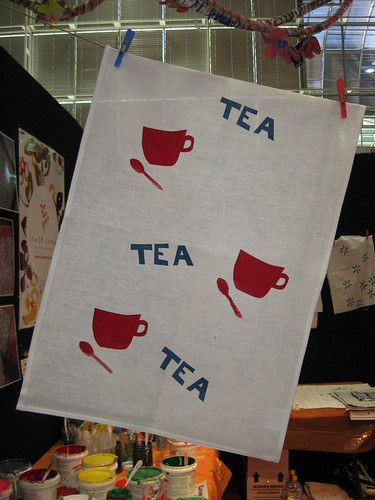 Screen print Tea time