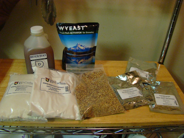 Saison ingredients