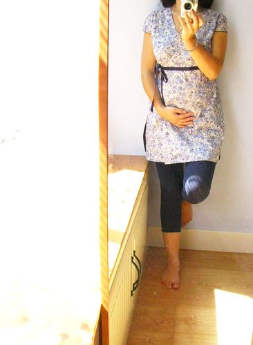 túnica maternidade