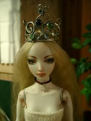 Windswept by Paige (anninaislove) Tags: by ed paige jewelry windswept crown bjd bianca porcelain headpiece marinabychkova enchanteddoll balljointdoll iunn hammerstitchburn