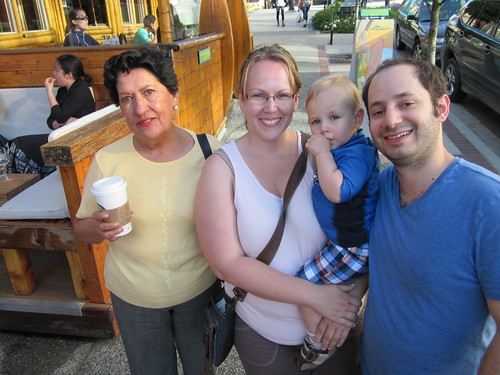 The District (North Vancouver, dinner with Ianiv, Arieanna, Aiden and my Mom)