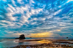 #850B7286 (crimsonbelt) Tags: sunset clouds explore balikpapan melawai