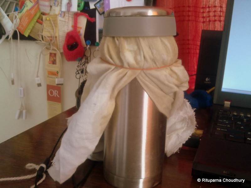 DIY Drip Coffee - the granny way @ home office, pune