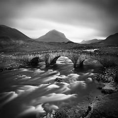 Sligachan River (Nina Papiorek) Tags: travel bridge skye nature water river landscape scotland europe hills isle waterscape sligachan
