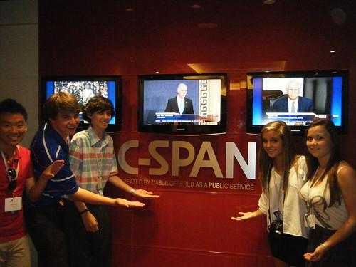 NSLC Visits C-Span