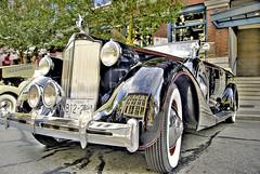 Vintage Nine (showbizinbc) Tags: auto car automobile antique vinage