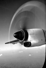ATR Propeller (BadGunman) Tags: bw nb myanmar propeller atr airkbz