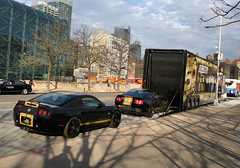 World's Greatest Cracker Jack Box? (Alex Nunez) Tags: nyc ny ford truck manhattan autoshow center semi shelby mustang coupe 50thanniversary transporter javits gt500 nyias hauler gt350 supersnake