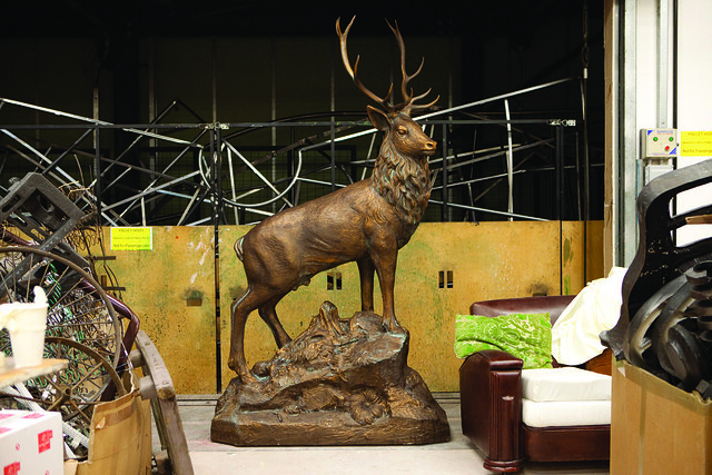 "A prop from Robert Carsen's production of Falstaff.  <a href=""http://www.roh.org.uk/falstaff"" rel=""nofollow"">www.roh.org.uk/falstaff</a>  Photo by Rob Moore"