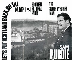 SNP leaflet, South Ayrshire by-election 1970 (Scottish Political Archive) Tags: party scotland scottish national publicity campaign ayrshire byelection purdie snp
