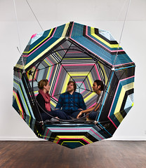 museumoflatinamericanart:  Capula by Pedro Reyes will be on view along with other interactive installations in our upcoming exhibition Play With Me which opens on Sunday, June 17. (artcitytrip) Tags: street sculpture art illustration design artist graphic assemblage contemporary installationart interactiveart artmedia pedroreyes psychedelicart artandmusic ballroommarfa mexicanartist artmovements artgenres authorofartwork artworktitle capula18 inlieuofunity artcitytrip