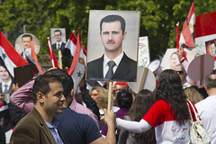 "Syrians rally for Assad • <a style=""font-size:0.8em;"" href=""http://www.flickr.com/photos/45090765@N05/7229217470/"" target=""_blank"">View on Flickr</a>"