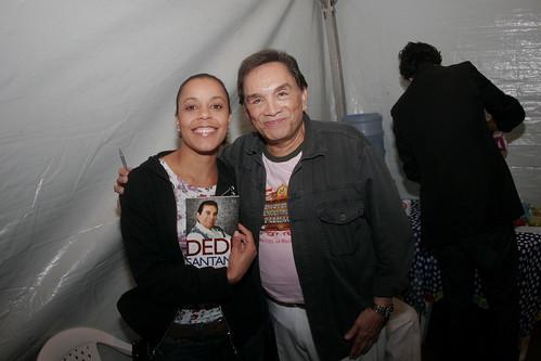 Noite de autógrafos com Dedé Santana