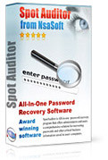 SpotAuditor – Advanced All-In-One Password Recovery Solution!