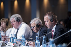 Sérgio Silva Monteiro during the Closed Ministerial Session