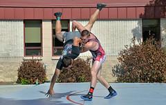 SOU Wrestling 1st Annual Outdoor Dual (acase1968) Tags: sports oregon lens photography nikon university action ryan wrestling garrett southern nikkor vr urrutia f4g d600 24120mm mcwatters
