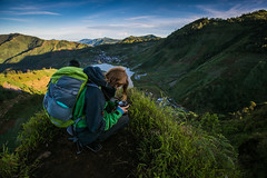 Above (Harry Hartanto) Tags: camping mountain sunrise indonesia java village hiking hill climbing dieng plateu shepperd