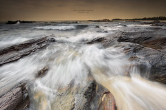 Crazy waves Tanjung Jara,Terengganu... (Alex cheong) Tags: seascape storm rock waves lanscape tanjungjara canon6d