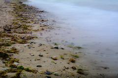 Silk and Sand (Ravi Mehla) Tags: silk sand beack ocean sea seascape nikon 35mm longexposure