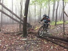 Foggy Frederick Frolic (bundokbiker) Tags: jo mountain bike