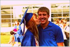 (Casey Jones Gibson) Tags: school light boy money cute love boyfriend girl june high nikon kiss couple natural graduation romeoville d60 congradulations