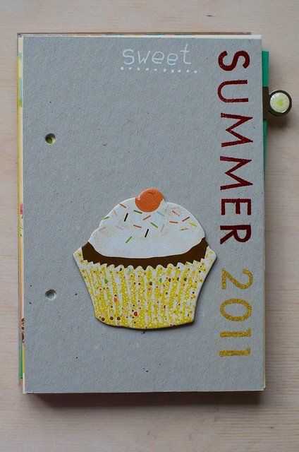 Sweet Summer 2011: minibook cover
