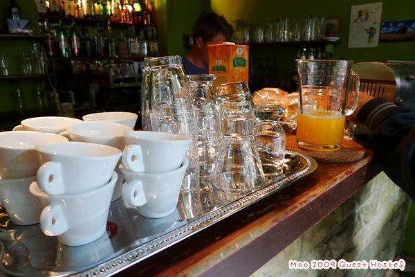 Quest Hostel早餐-8