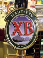 52 beers 3 - 42, Hartleys. XB, England