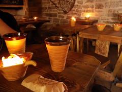 Cervezas y empanadas en el Old Town de Tallin