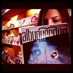 3-16-11 (mkrumm1023) Tags: magazine reading albuquerque flyingstar
