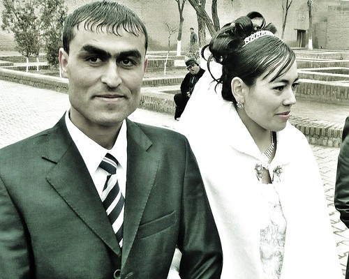 Wedding Couple - Khiva, Uzbekistan