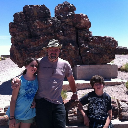 We were SO impressed with Petrified Forest National Park.  We listened to a great talk by Ranger Jack Pickett.  He clearly used to teach high school and had a deep love for his subject area!