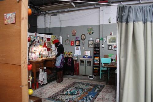 Betty Jo's studio
