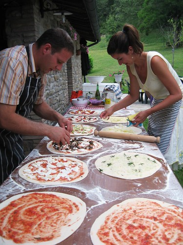 Pizza night at La Tavola Marche