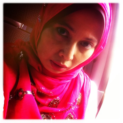 With Pink Shawl