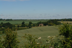 DSC29940 (tjsphotobrigg) Tags: uk trees england sunshine landscape lincolnshire hamlet wolds withcall