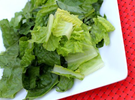 chopped romaine