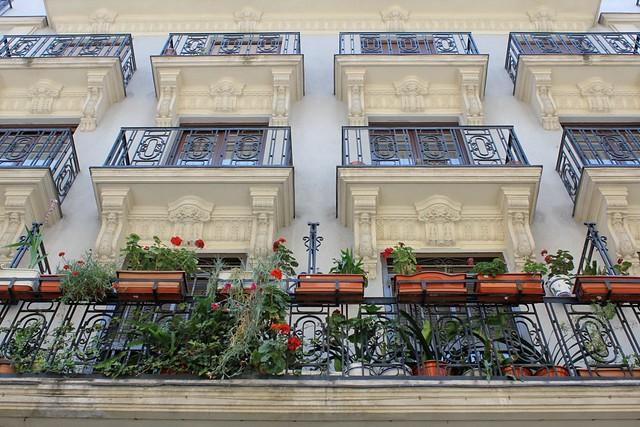 spanish balconies