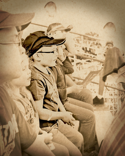 Watching the Rodeo smaller