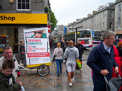 Belmont St Aberdeen (BlastAds) Tags: green bike promotion mobile advertising marketing scotland tricycle ad billboard aberdeen advert ambient environment trike sell campaign ecofriendly advertise influence adbike bikead adtrike blastads