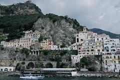 Arriving at Amalfi (juliaclairejackson) Tags: italy amalficoast amalfi