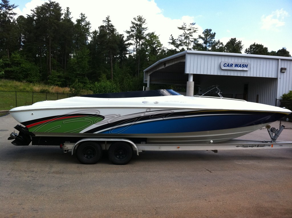 Boat Wrap Gelcoat Paint Offshoreonlycom - Baja boat decals   easy removal