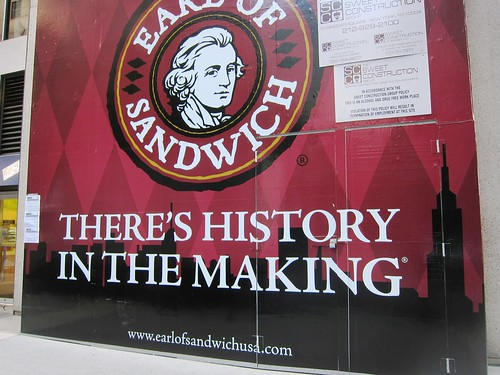 Earl of Sandwich Exterior