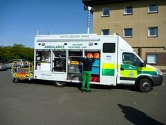 And in the Incident Support Unit we have ... (barronr) Tags: scotland volunteers ambulance sort westlothian britishredcross scottishambulanceservice bathagte specialoperationsandresponseteam