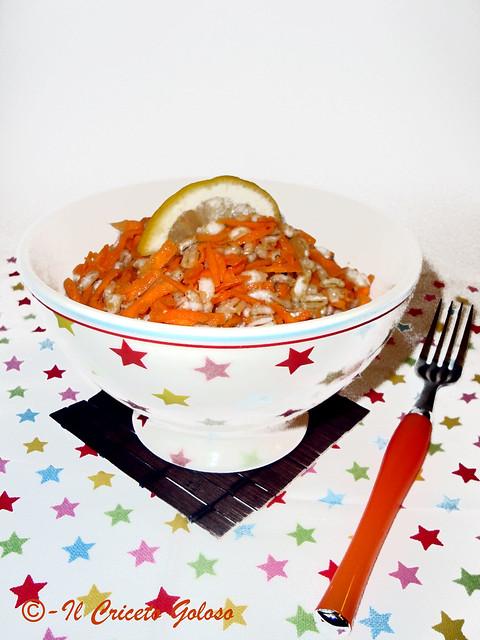 Insalata di orzo perlato e carote allo zenzero 2