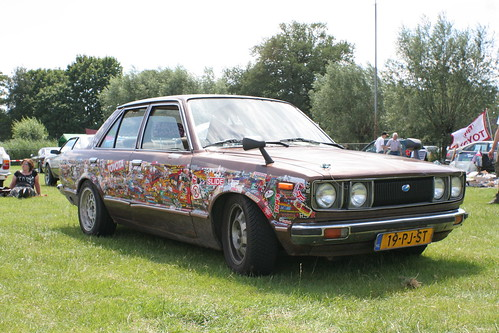 Erics stickerbombed TA40 at JCS2011